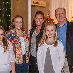 Elizabeth and Dana Sanders and Karla, Grace and Robert Davis.