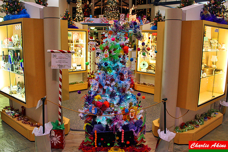 This tree is beautifully decorated.
