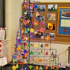 This creative tree was decorated by the Bower Center for the Arts.