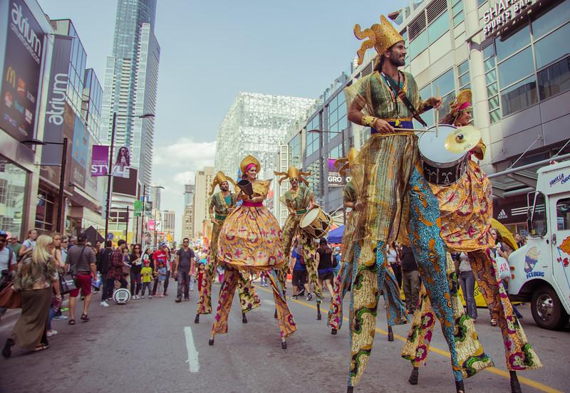 Toronto Busker Fest 2015