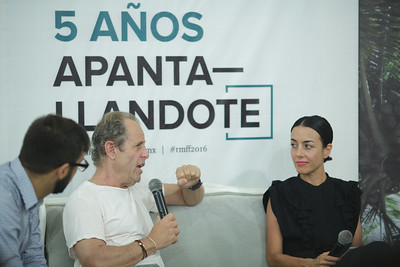 Conversación Marc Abraham y Cecilia Suarez