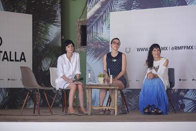 Fernanda Solórzano, Eva Husson y Diana Lein