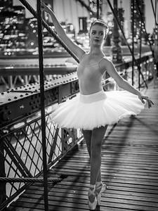 Brooklyn Bridge Ballerina