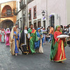 The Procession Is Colorful And Filled With Tradition