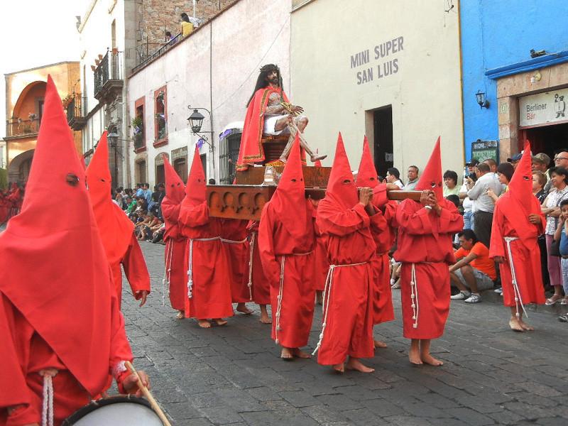 Santiago de Queretaro In The State Of Queretaro