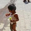 The Miniature Conchero Dancer With His Ice Cream