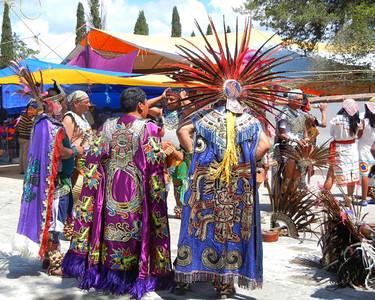 Indigenous Otomi Festival, Mexico
