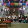 Many People Visit The Old Iglesia During This Holiday