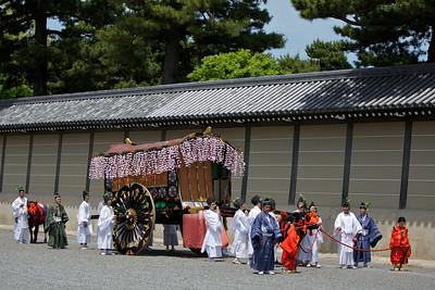 Aoi festival at Gosho