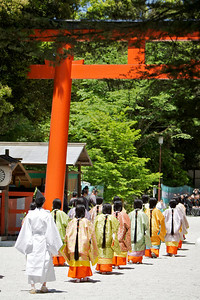 Aoi Festival at Shimogamo-jinja