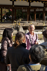 Sightseeing at Kamigamo jinja Shrine in Kyoto with Guide  World Cultural Heritage Site in Autumn