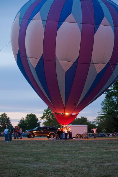 Oregon Northwest Art & Air Festival, Albany, Oregon, August 27, 2010, Night Glow Celebration