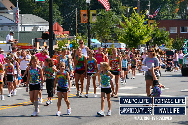 Popcorn Parade Athletic Groups 2009