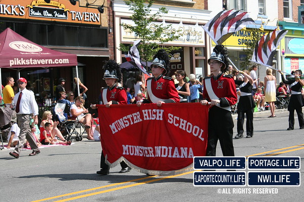 Popcorn Parade HS Bands 2009