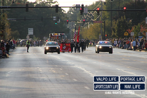 Portage High School Homecoming Parade 2012