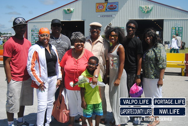 Rittenhouse Seniors Honored at Porter County Fair 2014