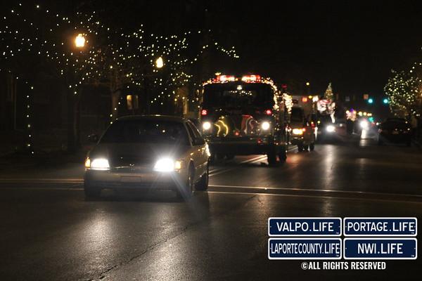 Whiting Illumination Christmas Parade 2014