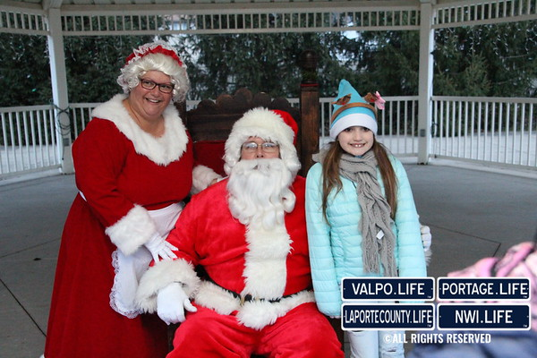 2015 Portage Christmas Parade and Park Lighting