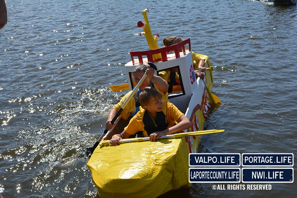 City of Hobart Card Board Boat Regatta 2015