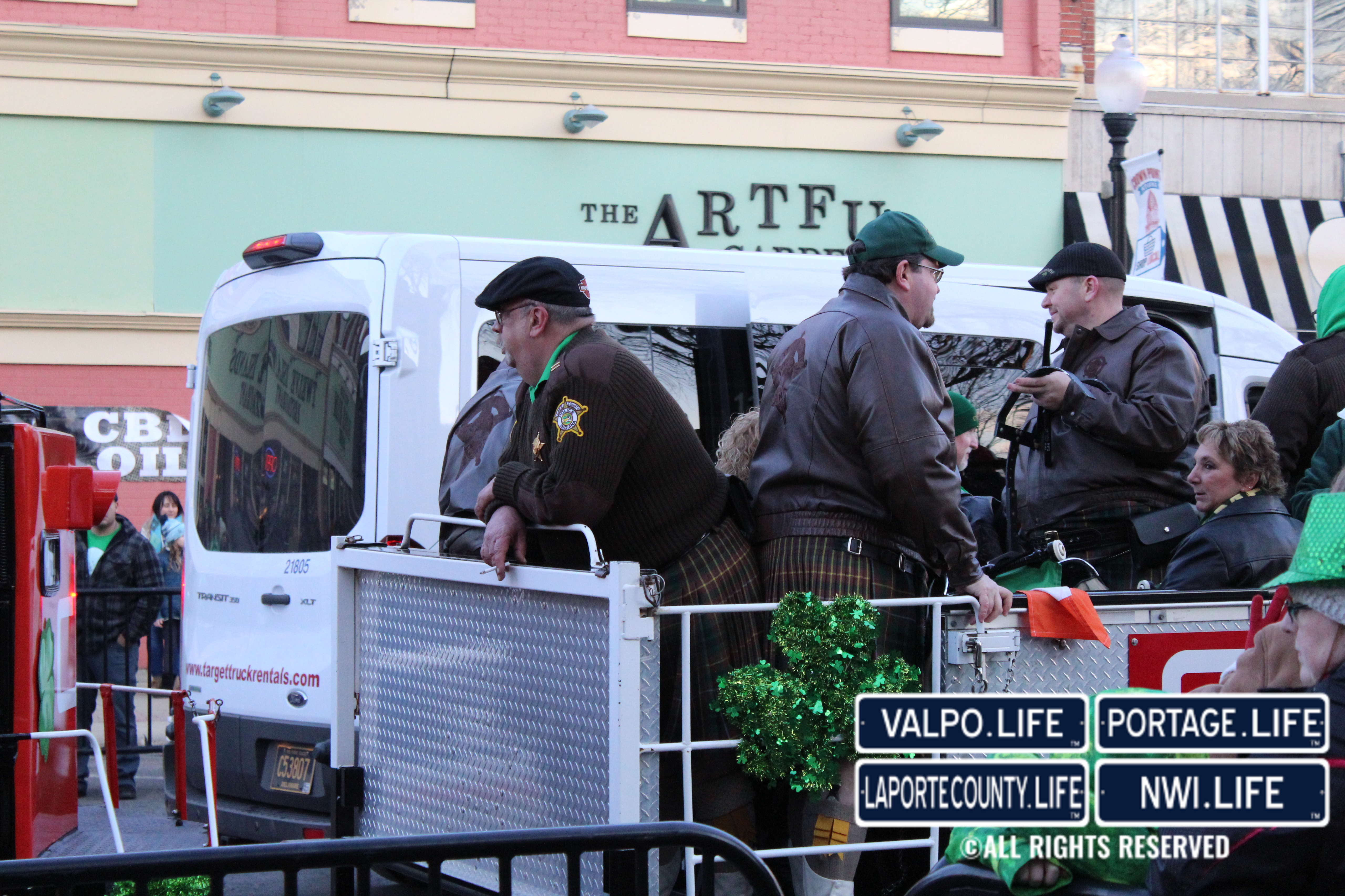 Crown Point St. Patrick's Day Night-time Parade 2019