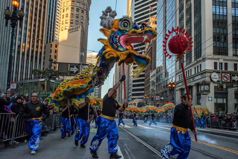 San Francisco's 2017 Chinese New Year Parade (Year of the Rooster)
