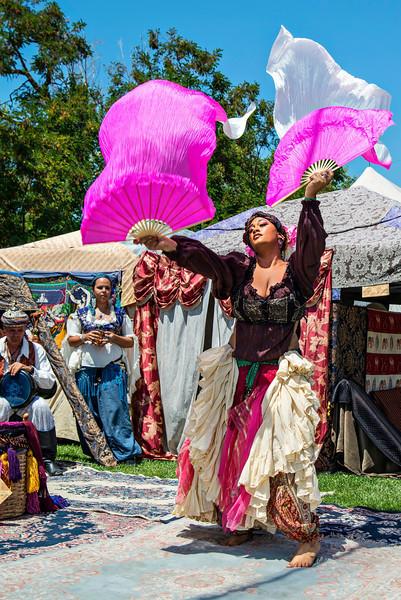 Fan Dancer, San Jose Renaissance Faire