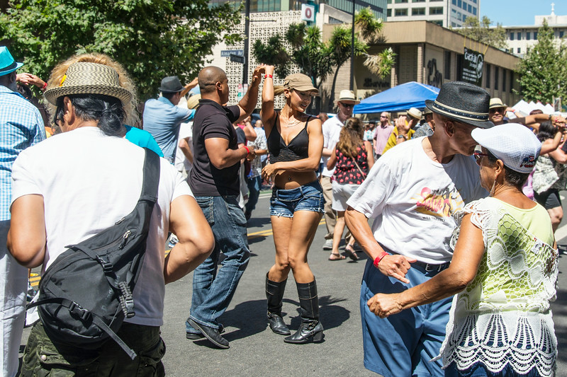 The Salsa Dancers