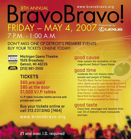 Bravo Bravo! @ Detroit Opera House