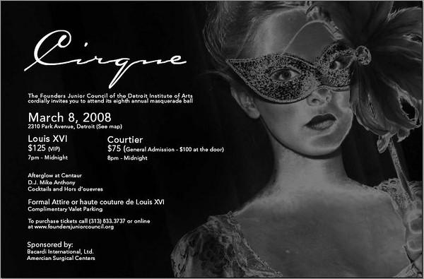 Cirque 08 ::Masked Ball::