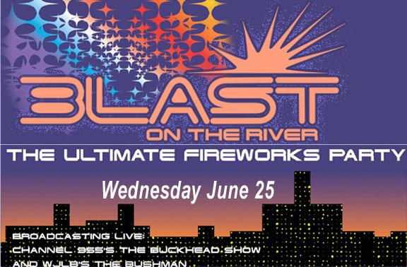 BLAST-Riverfront Fireworks