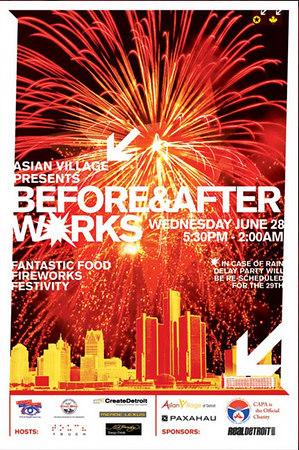 Before & After Works (Detroit Fireworks)