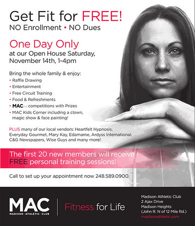 MAC Annual Open House ~ Madison Heights, MI