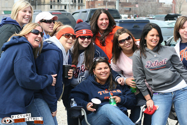 Tigers Opening Day 2009