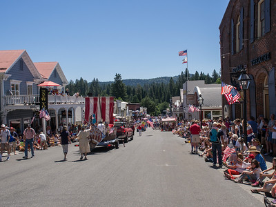 Fourth of July parade, Nevada City, 2014