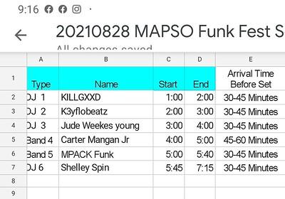 20210828 Final mapso Music Schedule 1