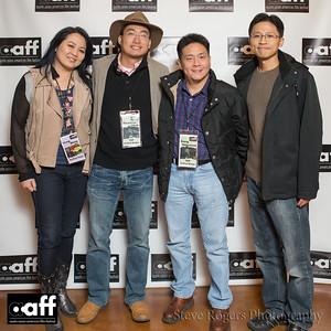 Festival Director Leng Wong and Sponsors