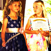 Debbie Blank | The Herald-Tribune<br /> All royalty pageant candidates received certificates of participation, including Ella Peetz (left) and Allison Obermeyer.