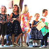 Debbie Blank | The Herald-Tribune<br /> Miss Apple Blossom hopefuls included kindergartners (from left) Abigail Weigel, Tess Rennekamp, Ella Peetz, Allison Obermeyer, Madison Navarra, Ranie Molnar, Elsie Koehne, Harper Buckley and Claire Baker.