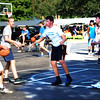 Debbie Blank | The Herald-Tribune<br /> There were plenty of water bottles at the Southeastern Indiana YMCA 3-on-3 basketball tournament held in conjunction with the fest.