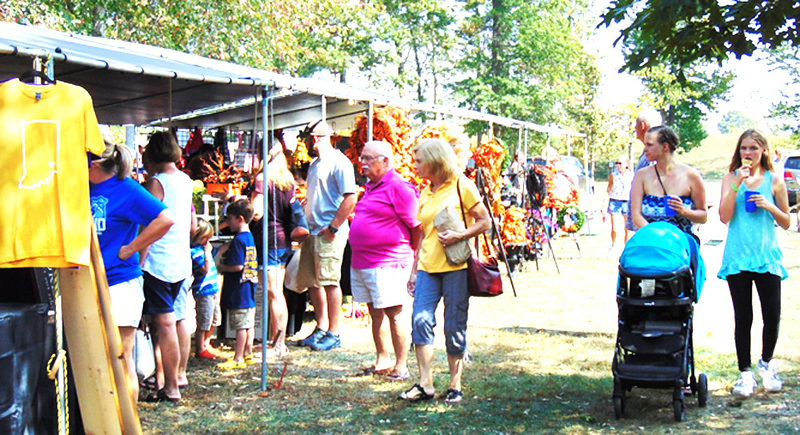 Applefest vendors were selling clothing, home decor, food and many other items.