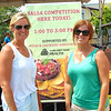 Diane Raver | The Herald-Tribune<br /> Liz Kellerman (left) and Amy Hawkins partipcated in the Salsa Cook-off.