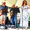 Debbie Blank | The Herald-Tribune<br /> Batesville area Lone Wolf & Friends performed acoustic rock and country classics from 10:30 a.m.-12:30 p.m.