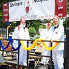 Debbie Blank | The Herald-Tribune<br /> Area Shriners help educate spectators about their projects.