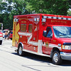 Debbie Blank | The Herald-Tribune<br /> One of Batesville Fire & Rescue's ambulances was on display.