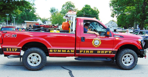 Debbie Blank | The Herald-Tribune<br /> One Sunman truck had a lot of gear.