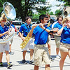 Debbie Blank | The Herald-Tribune<br /> The band participates in many community events throughout the year, including this parade.