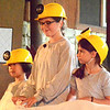 "Debbie Blank | The Herald-Tribune<br /> Some young singers wore hard hats in ""The Adventures of Frog and Toad."""