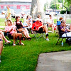 Diane Raver | The Herald-Tribune<br /> Patrons not only filled the paviliion June 20, but also sat in chairs outside to listen to the jazz orchestra.