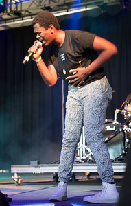 Shamir performs during the Bonnaroo Music and Arts Festival 2016 in Manchester TN.