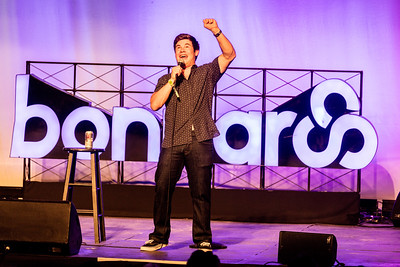 Adam Devine performs during the Bonnaroo Music and Arts Festival 2016 in Manchester TN.